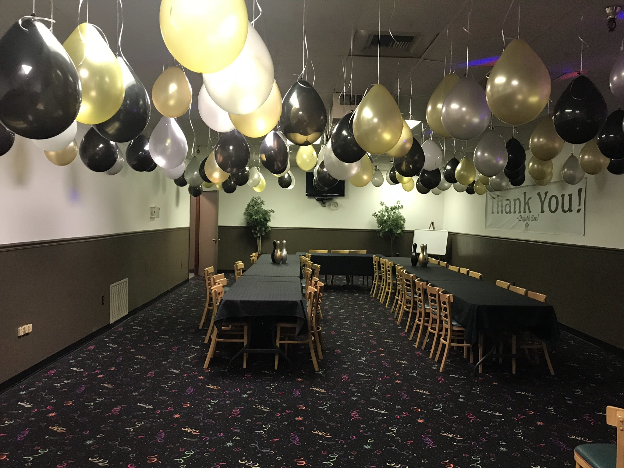 Design and decorate your adult parties or corporate events! $10 party  accessories available!