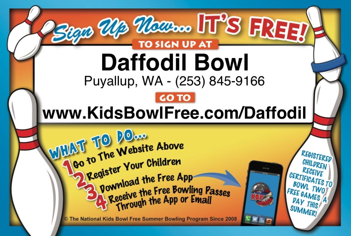 Youth Programs Sports Scholarships Daffodil Bowl Puyallup Wa